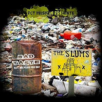 The Slums / Bad Taste - PCT Musique Split Vol.6