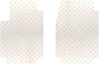 Intro-Tech NS-730F-PM Protect-A-Mat Front Row 2 pc. Custom Fit Auto Floor Mats for Select Nissan Pathfinder (Medium SUV) Models - Vinyl, Clear
