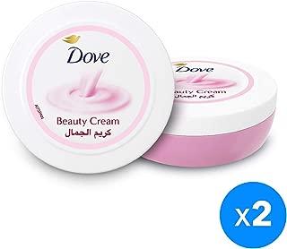 Dove Body Cream Beauty, 2 x 250ml