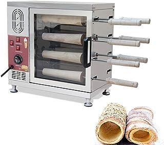 Denshine Electric Ice Cream Cone Baking Machine Kurtos Kalacs Chimney Cake Roll Maker Backing Machine 3000W