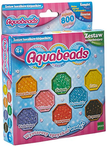 Aquabeads 31668 Glitzerperlen - Nachfüllset