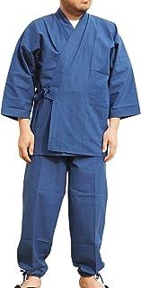 作務衣 日本製 武州本藍染作務衣(さむえ)