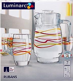 Luminarc H5742 Robins Drinkware Set, 7 Pieces