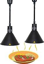 Lampe Chauffe-Plats pour Aliments, Lampe Chauffante pour Buffet Pizza et Steak, Suspension Luminaire D'isolation Restauran...