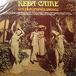 REDA CAIRE ses plus grands succès LP 1972 Vega - fermons nos rideaux VG++