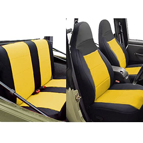 Miraculous Seat Covers For Jeep Tj Amazon Com Machost Co Dining Chair Design Ideas Machostcouk