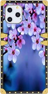 iPhone 11 Pro Cherry Blossom Wallpaper Square Cover Case (2019) 5.8-Inch