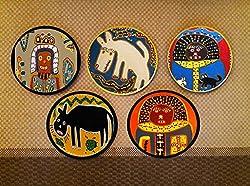 tribal artwork designs ~ African Tribal Wall Art