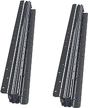 2 STKS Lade Dia's, Push-in Metalen Heavy-Duty 3 Gedeeltelijk Volledig Uitgebreide Rails, 1 Paar Kogellager Slides Geïnstal...
