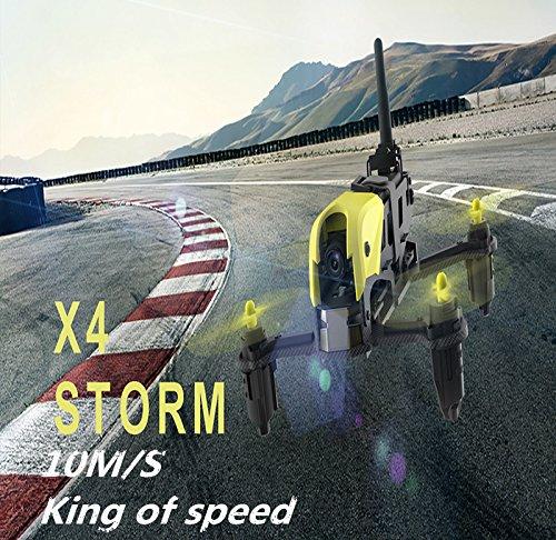 Hubsan H122D X4 Storm Quadrocopter Drohne mit 1M Kamera Micro FPV Racing Drohne 3D Flip RC Quadrocopter