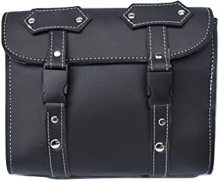 Motorcycle Tool Bags Sissy Bar Bags Handlebar Saddle Bag PU Leather Storage Tool Pouch New