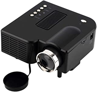 Black Av Vga Usb Sd Compatibility 1080p Portable Hdmi Mini Led Uc28 Projector Home Cinema Theater