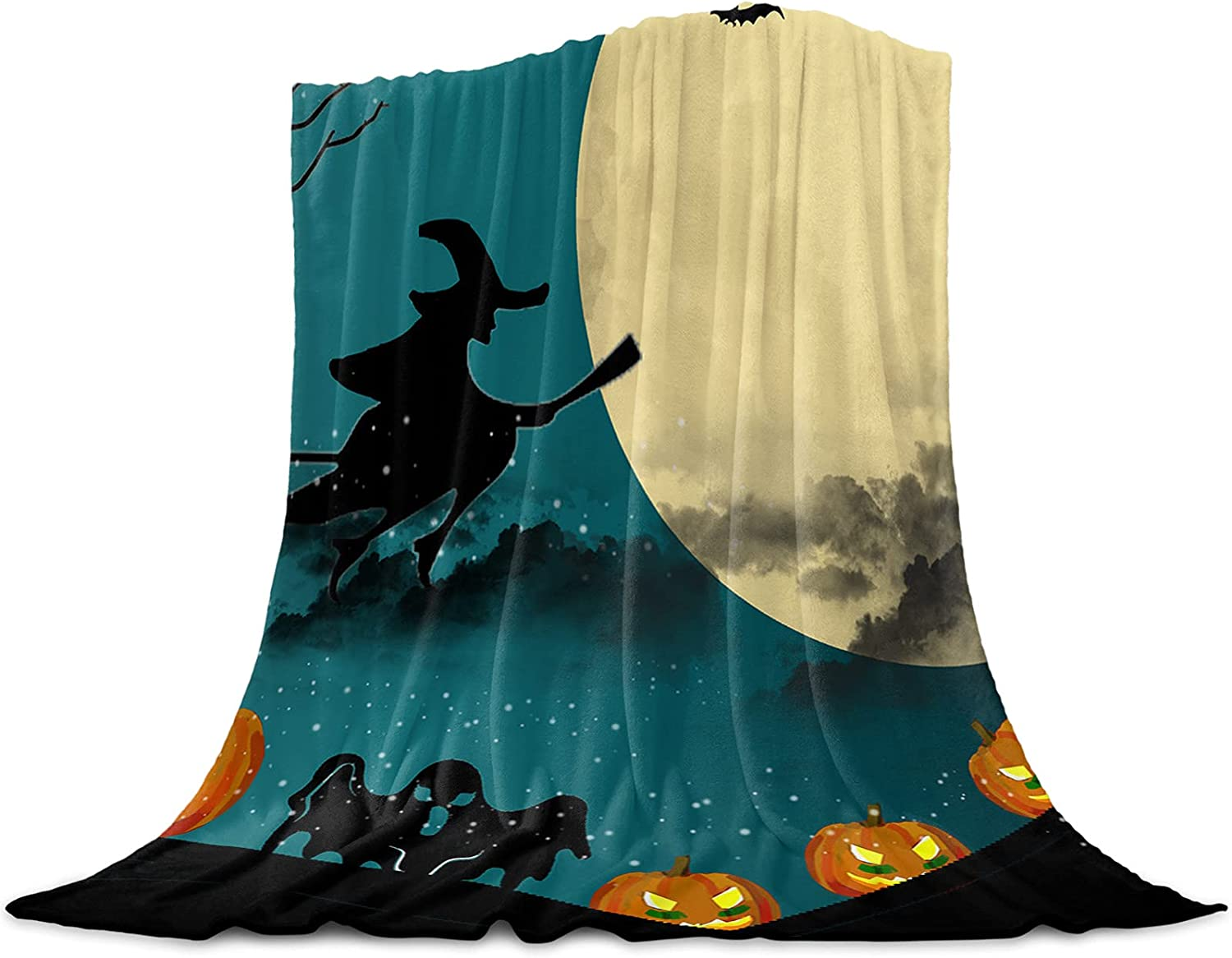 Very popular Fantasy Staring Throw Blanket for Bed Couch New product! New type 59 Inche Witch 79 x