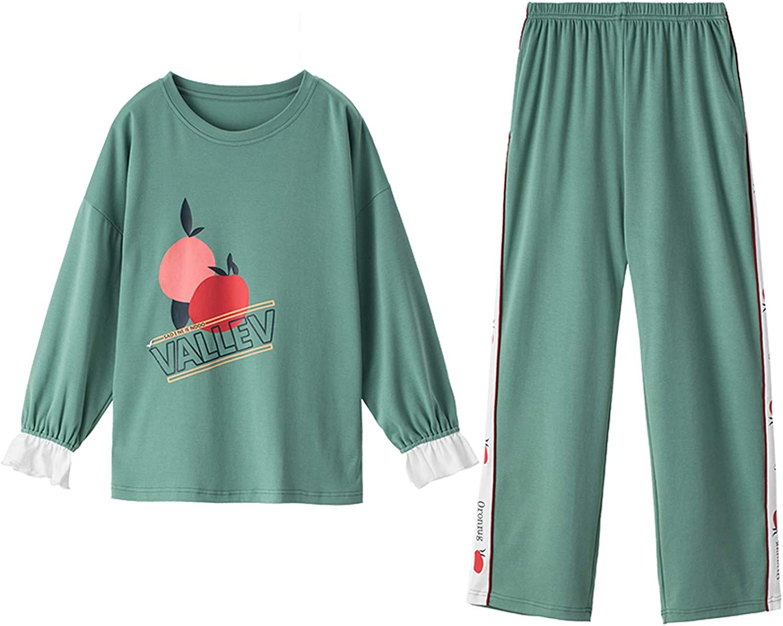Maoyou Ladies Lounge Fruit Print Comfortabl High quality Women's Homewear Set Minneapolis Mall