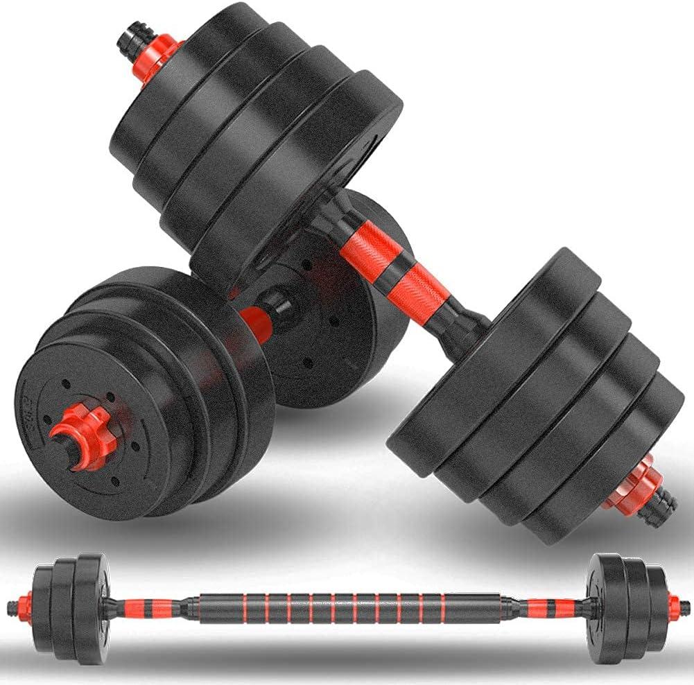 Dumbbells Set 3 in 1 Adjustable 33 Dumbells 5 Weights 22 Max 48% Super intense SALE OFF 44