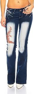 Crazy Age (1061A Tattoo dżinsy własne, jedyne w swoim rodzaju, seksowne, przyciągające wzrok spodnie