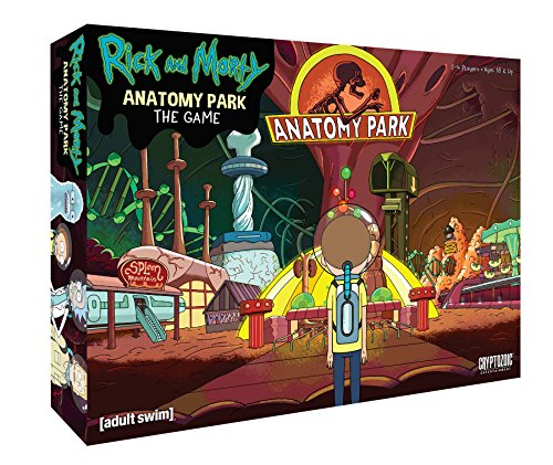 RICK & MORTY ANATOMY PARK