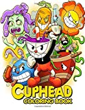 Cuphead coloring book: Join Cuphead and his brother Mugman in their adventure