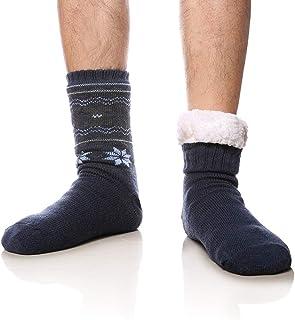 Calcetines de invierno para hombre, muy suaves, cálidos, con forro polar