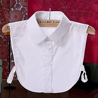P Prettyia Colletto Camicia Finto Pizzo Floreale Donna Per vestiti maglioni camicetta T-shirt Staccabile