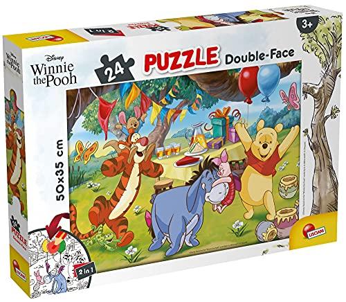 Lisciani Giochi - Disney Puzzle DF Plus 24 Winnie The Pooh Puzzle per Bambini, 86528