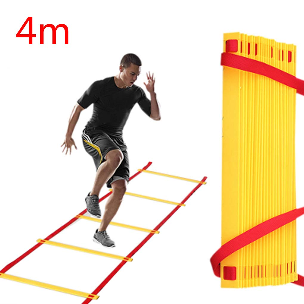 Tralntion - Escalera de Entrenamiento para Deportes de fútbol: Amazon.es: Hogar