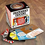 Party-perfect fun is always on the table, with Coaster Games from Family Games America Double-sided coasters include trivia games, skill games, puzzles, dares and even pop-out playing tokens 15 fun challenges will keep your guests amused throughout t...