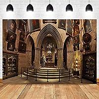 写真撮影のためのHDヨーロッパ美術館の背景世界的に有名な絵画と美術展美術館の背景7x5ftZYMT0825