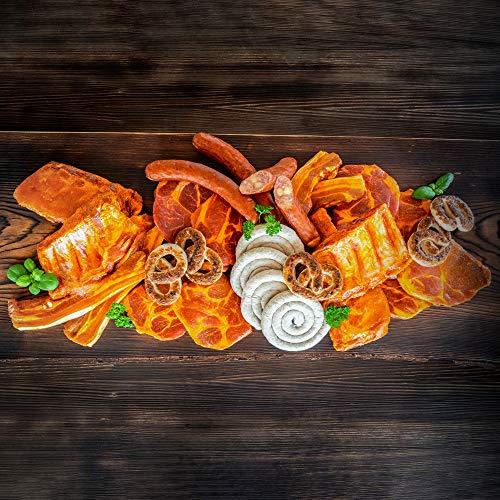 WURSTBARON® Grillpaket BAYERN für 10 Personen - Für den perfekten Grillgenuss - verschiedene marinierte Grillfleisch Sorten und Bratwürste