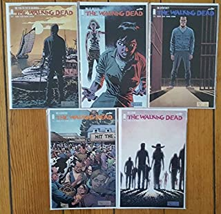 The Walking Dead Issues 139-143 - Five Single Issue Comics from Vol 24