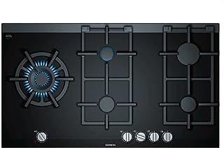 Siemens er9 a6sd70d 黑色内置燃气炉 – 板(内置,煤气,玻璃和陶瓷,黑色,旋转,触摸,前顶)