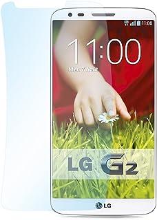 """doupi ultraljud skyddsfolie för LG G2 (5,2 tum) Crystal Super Clear högglans glänsande slät skärm skydd folie LG G2 ( 5.2""""..."""