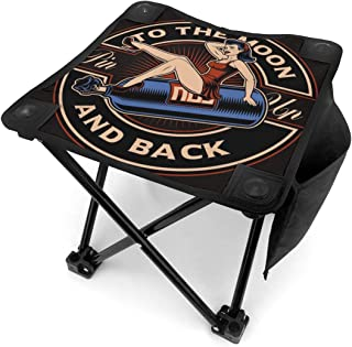 アウトドア 椅子 亜酸化窒素でバルーン上の女の子をピンで留める アウトドア 椅子 ピクニック 釣り コンパクト イス 持ち運び キャンプ用軽量 収納バッグ付き 折りたたみチェア レジャー 背もたれなし