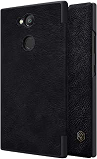 Sony Xperia L2 Nillkin Qin Leather Series case [Black Color] BY ONLINEPHONE