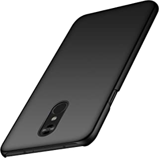 Anccer LG Stylo 4 Case [Colorful Series] [Ultra-Thin] [Anti-Drop] Premium Material Slim Cover for LG Stylo 4 2018 (Smooth Black)