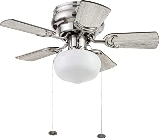 Prominence Home 51656-01 Hero Ceiling Fan, 28, Q