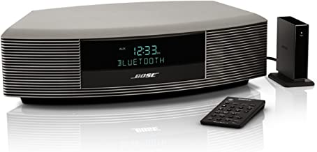 Bose Wave Radio III with Bluetooth Music Adapter- Titanium Silver