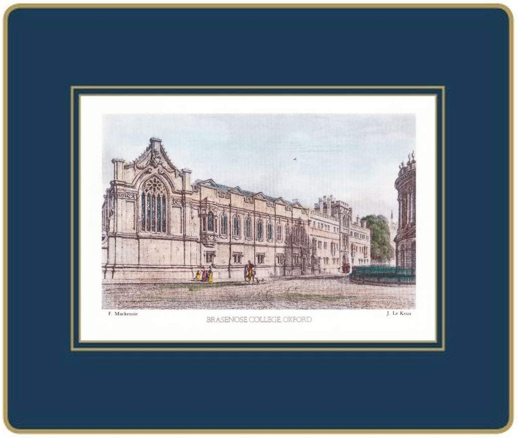 Lady Clare Tablemats - Oxford Views lowest price High material of 6 University Set