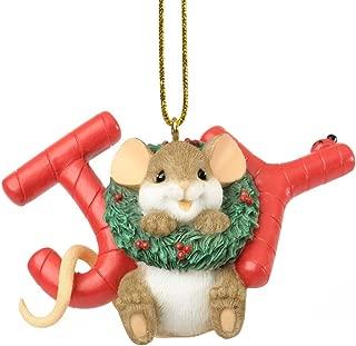 Enesco Charming Tails The Season of Sweet Joy Ornament, 2-Inch
