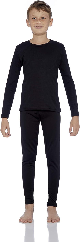 Rocky Thermal Underwear for Boys (Thermal Long Johns Set) Shirt & Pants, Base Layer w/Leggings/Bottoms Ski/Extreme Cold