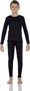 Rocky Boy's Ultra Soft Fleece Lined Thermal Underwear 2 PC Set Long John Top and Bottom