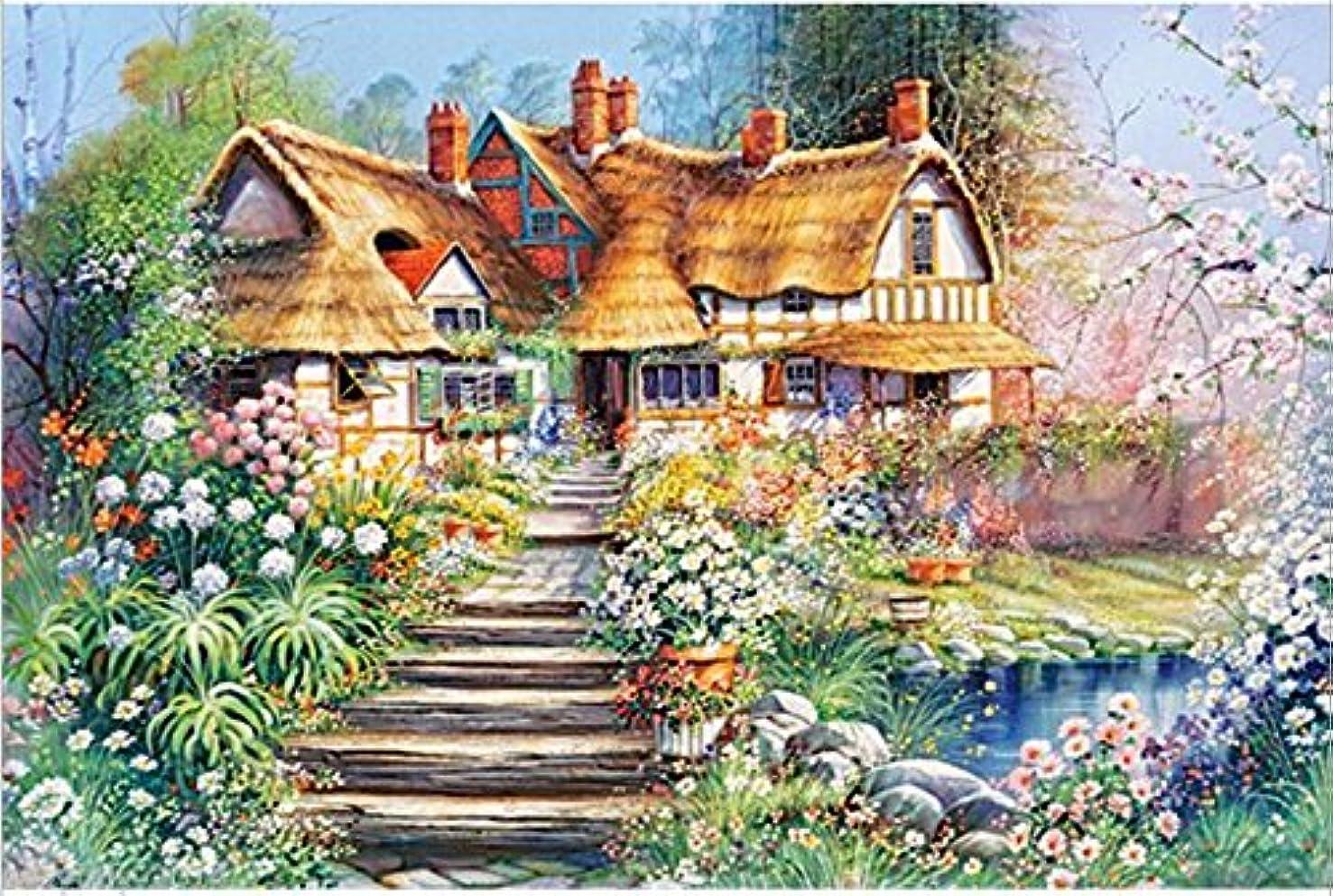 45x30cm Country House Diamond Embroidery Diamond DIY Painting Cross Stitch