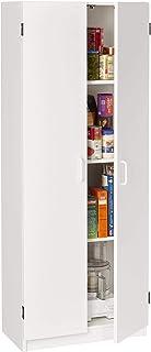 System Build Flynn Wooden Storage Cabinet, White