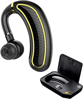 Xmate Edge in-Ear Wireless Mono Bluetooth Headphones with Mic - (Black)