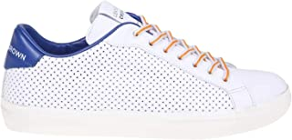 8c855c9a2e3c Leather Crown Sneakers Uomo MLC06302 Pelle Bianco