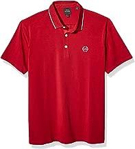 AX ARMANI EXCHANGE Polo Shirt Art: 8NZF70 Z8M9Z (S, Racing Red)
