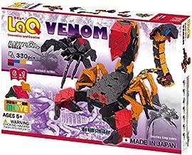 LaQ Animal World Venom - 6 Models, 330 Pieces - Creative Construction Toy