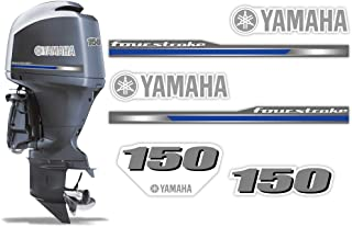 yamaha 150 outboard decals