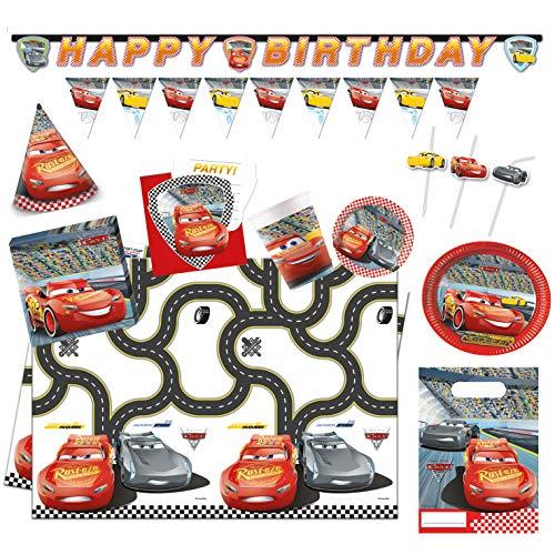 Procos 10115662B - Disney Partyset Cars 3, XXL
