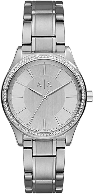 Armani Exchange AX5440 Silver-Tone Stainless Steel Watch